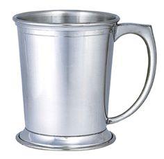 Pewter Derby / Polo Mug / 8 Oz Or 12 Oz