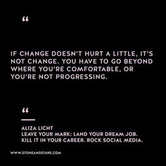 Book of the week Leave Your Mark: Land your dream job. Kill it in your career. Rock social media by Aliza Licht Change Quotes Job, Job Quotes, Text Quotes, Quotes To Live By, Funny Quotes, Life Quotes, Qoutes, Motivation For Today, Motivation Success