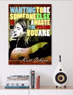 """Kurt Cobain Nirvana Printable Instant Download by pahleeloola. Use the coupon code, """"PIN10"""" for 10% off on your entire purchase! Click to buy and print!"""