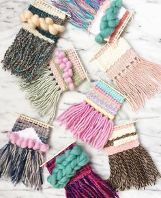 Sweet weaving inspirations by woolandweave