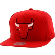 Mitchell.And.Ness.Chicago.Bulls.Apple.Red.Visor.Snapback.Cap.(red./.red./.zebra)