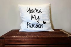 Special friend pillow cushion you're my by theprintedsurface, $25.00