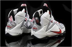 buy online 5ea74 939f0 Lebron 12 For Kids White Red Black1