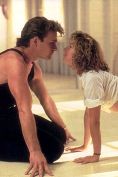 """Dirty Dancing: With Patrick Swayze (played as Johnny Castle) and Jennifer Grey (Frances """"Baby"""" Houseman) Good Movie! Patrick Swayze is dearly missed by many and was a wonderful talented dancer. Jennifer Grey, See Movie, Movie Tv, Movie Scene, Movies Showing, Movies And Tv Shows, Romantic Movie Quotes, Bon Film, Great Movies"""