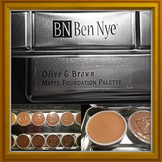Foundation palate for olive to dark warm skin tones. Cream foundation best for dry skin. Great for contouring and looks beautiful in photographs. Very blendable and natural looking. Not for everyday use