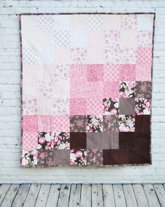 Chocolate Mousse Baby Quilt Tutorial – Riley Blake Designs