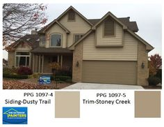 Painted Brick And Siding In Ppg 1001 1 Delicate White