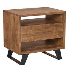 Moes Home Collection Greta 1 Drawer Nightstand