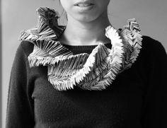 Teaching Portfolio :: Paper Contemporary Jewelry Class by Mariana Acosta, via Behance