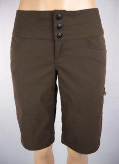 LULULEMON Butterfly Shorts Size 6 S Brown Coated Rare #Lululemon #Shorts