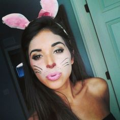 I chose this photo because this is a stylized rabbit costume I can use for inspiration!