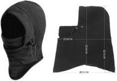 EOZY 1pc Multifunction Unisex Men Women Soft Thermal Fleece Helmet ...