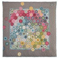 Primavera quilt by Bruce Seeds / a kaleidoscope of spring colors