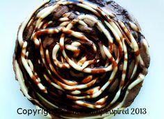 Choco Vanilla Ice Cream Cake