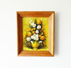 Kitschy Floral Wall Art
