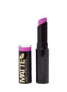 These bold lipsticks are rich in pigment and filled with moisture for a flat velvet finish.