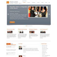 Private Lawyer Business WordPress Theme | WordPress Theme Download
