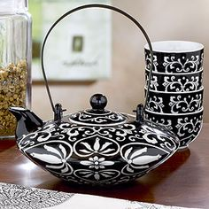 adorable-I bet I would drink more tea if I owned these...