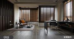 現代風的裝潢圖片為近境制作的設計作品,該設計案例是一間總坪數為100,格局為三房,更多近境制作設計案例作品都在設計家 Searchome