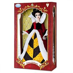 Limited Edition Queen of Hearts Doll - 17''