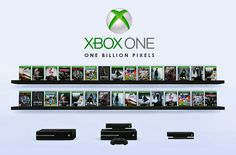 One Billion Pixels: Xbox One Games & Consoles (Decor Clutter)