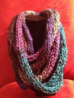 Infinity scarf. $20.00, via Etsy.