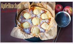 Apfelkuchen mit Marzipan für #ichbacksmir