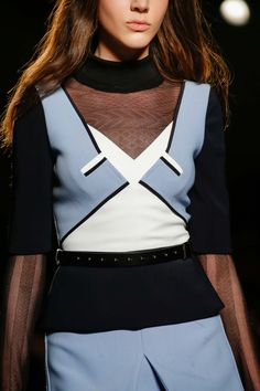 Roland Mouret - Paris Fashion Week - Fall 2015