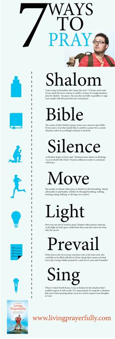 7 Different Ways to Pray