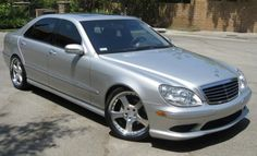 Mercedes S430...i want this car.