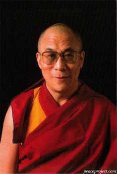 14th Dalai Lama of Tibet  - Postcard  http://www.peaceproject.com/postcards
