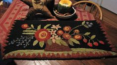 The Old Tattered Flag: New designs and a rug for me!!