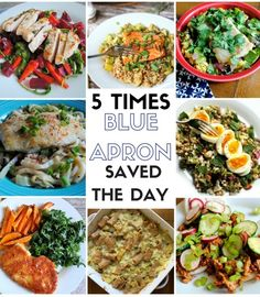 5 Times Blue Apron Saved the Day