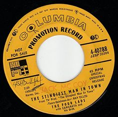 """45vinylrecord The Stingiest Man In Town/Mary's Little Boy Chile (7"""" DJ/45 rpm) COLUMBIA http://www.amazon.com/dp/B017O4SK9C/ref=cm_sw_r_pi_dp_rOlqwb16P4GBF"""