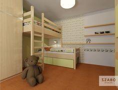 Jeden pokoj, více dětí. 7 tipů pro sourozenecké pokoje Loft, Bed, Furniture, Home Decor, Decoration Home, Stream Bed, Room Decor, Lofts, Home Furnishings