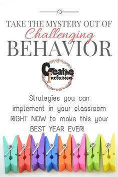 Shaping Classroom Behavior 101