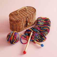The Land of Nod | Knitty Knit Kit in Toys