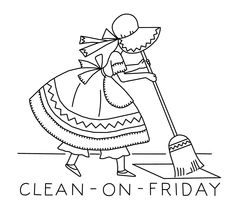 Embroidery Pattern from kaumagraph-120-clean-on-friday. http://qisforquilter.com/.     jwt