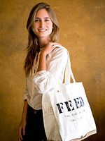 Lauren Bush Lauren is the founder of FEED, a nonprofit targeted at feeding hungry children in third world countries. To date, FEED has been able to raise enough money through the sale of products to provide over 60 million school meals to children around the world.