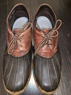 46d4ac3b7af Vtg Danner Maine BOOTS hunting winter DUCK SHOES Size 10 Mens Preowned   fashion  clothing