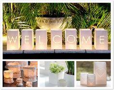 green wedding ideas & green events: Wedding lanterns can help set the scene for your natural wedding.  http://www.biome.com.au/818-wedding-lanterns