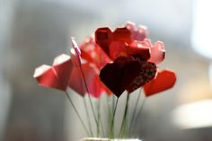 Décoration origami en coeur - MyBohemian Summer sur Etsy