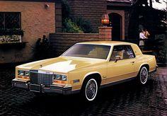 cadillac eldorado | Large picture) 1980 Cadillac Eldorado exterior.. One of my coworkers had a red one