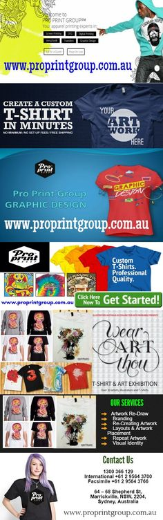 Our Graphics Department can handle everything from business logo creation, customising and re-working your existing artwork to create a new aesthetic, right up to sports team lettering, names and n…  https://proprintgroupblog.wordpress.com/2016/07/17/t-shirt-printing-australia/