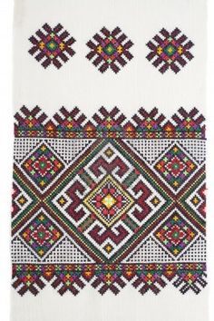 embroidered good by cross-stitch pattern Stock Photo - 7804601