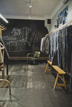 Nudie Jeans Repair Shop, Vallgatan Göteborg