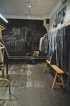 Nudie Jeans Repair Shop, Vallgatan Göteborg