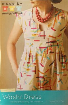 Washi Dress Pattern Check Pinterest for all the alterations of this pattern