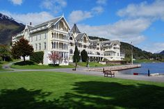 Kviknes Hotel in Balestrand, Norway is a wonder of 19th century art and architecture, Scandinavian food and breathtaking views. You will NEVER forget it.