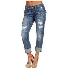 True Religion Women's Size Guide A beautiful blend of old and new. The Cameron boyfriend jean boasts a slouchy mid rise and baggy leg that tapers to a skinny o…